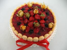 ovocný dort lesní směs