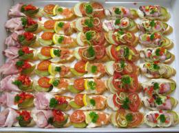 mini chlebíčky ukázka