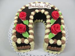 čokoládová podkova