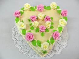 srdce s růžemi