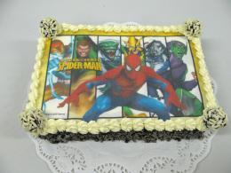 Spider Man jedlá fotka