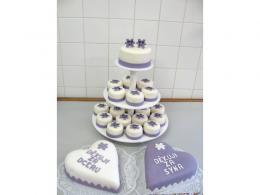 svatební dort a děkovací dorty