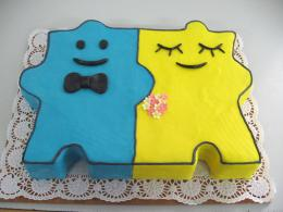 dort puzzle svatební