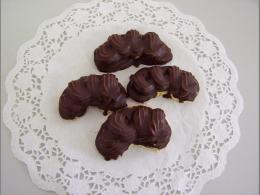 čokoládový rohlík