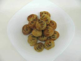 ořechové koláčky stříhané 3,5 cm