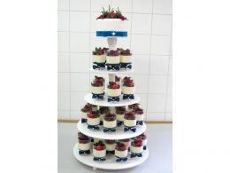svatební dort panna cotta