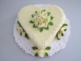 srdce tradiční svatební