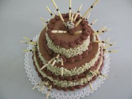 svatební klasický dort