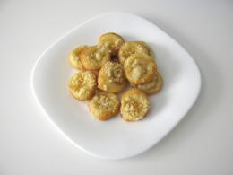 meruňkové koláčky otevřené 4,5 cm