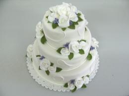 něžný dort