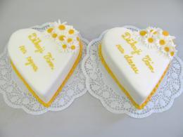 děkovací dorty