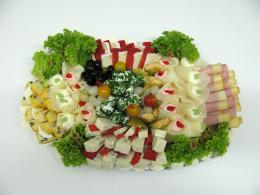 sýrová obložená mísa