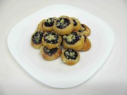 borůvkové koláčky otevřené 4,5 cm