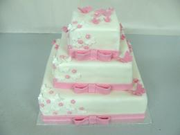 čtverec patrový dort