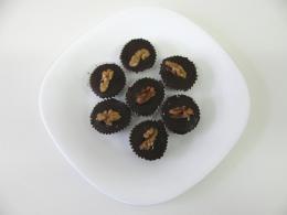 košíčky s ořechovou nádivkou