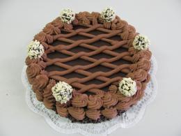 čokoládový dort s lanýžky