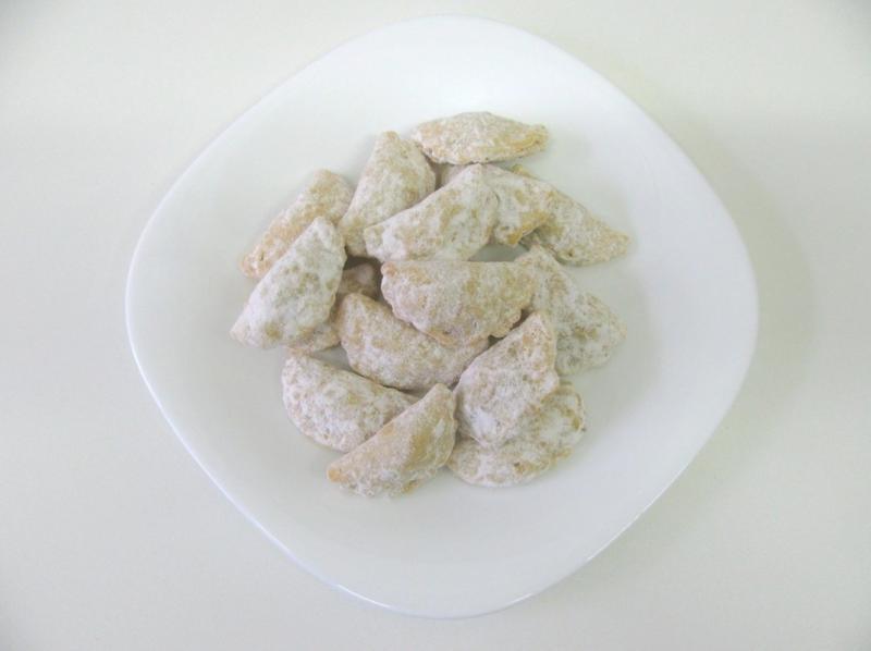ořechové mušličky