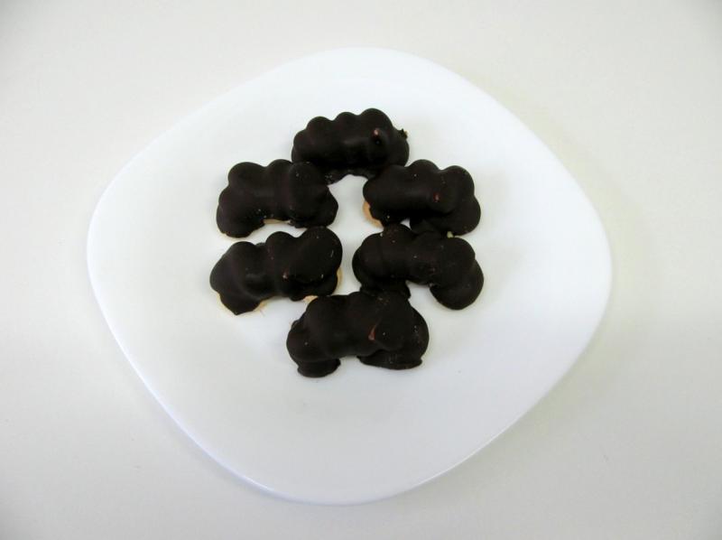 rohlíčky krémové čokoládové