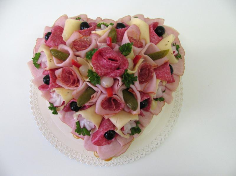 slaný dort pro ženy