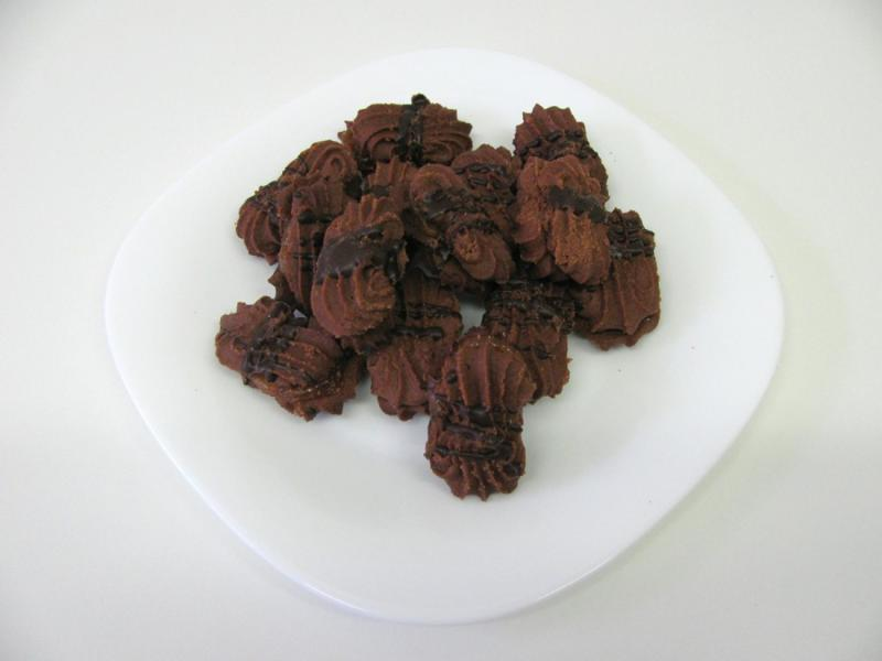 třené linecké čokoládové