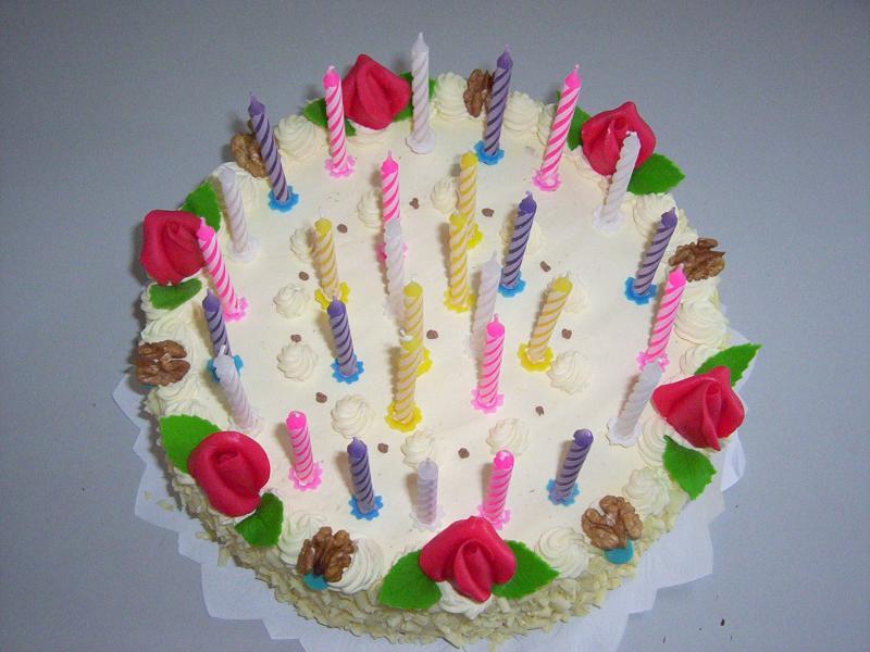 dort se svíčkami