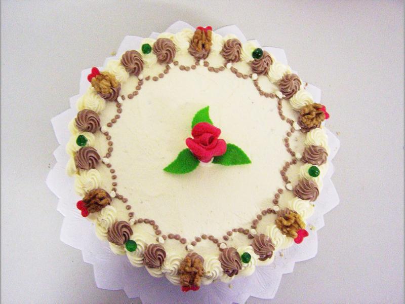 kulatý dort