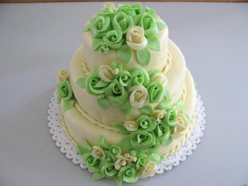 dort zelené růže