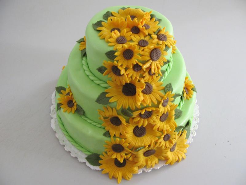 dort patrový se slunečnicemi