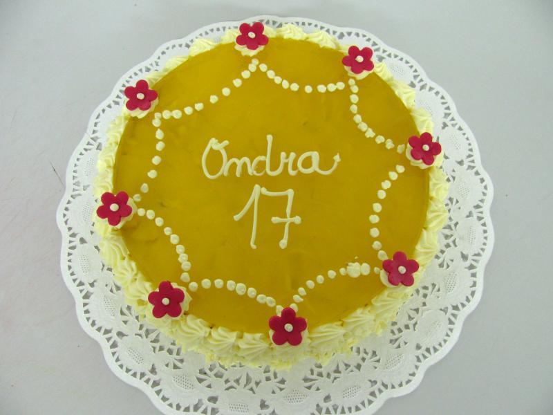ovocný dort ananas