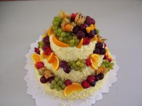 dort s ovocem máslový