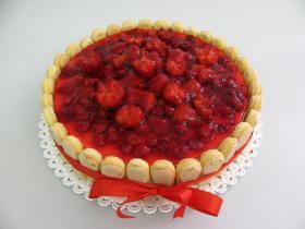 ovocný dort jogurtový jahoda