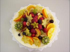 ovocný dort mix